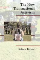 new book, title: The new transnational activism [electronic resource] / Sidney Tarrow.