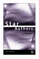 new book, title: Star authors [electronic resource] : literary celebrity in America / Joe Moran.