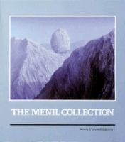 new book, title: The Menil Collection : a selection from the Paleolithic to the modern era.