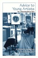 new book, title: Advice to young artists in a postmodern era / William V. Dunning with Ben Mahmoud.