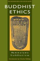 new book, title: Buddhist ethics [electronic resource] / Hammalawa Saddhatissa ; introduction by Charles Hallisey.