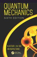 new book, title: Quantum mechanics / Alastair I.M. Rae, Jim Napolitano.
