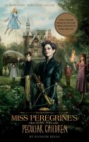 new book, title: Miss Peregrine's home for peculiar children / by Ransom Riggs.