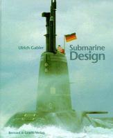 new book, title: Submarine design / Ulrich Gabler with an updating chapter by Fritz Abels and Jürgen Ritterhoff.