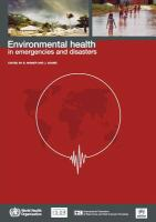 new book, title: Environmental health in emergencies and disasters [electronic resource] : a practical guide / edited by B. Wisner, J. Adams.