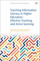 new book, title: Teaching information literacy in higher education [electronic resource] : effective teaching and active learning / Mariann Løkse, Torstein Låg, Mariann Solberg, Helene N. Andreassen, Mark Stenersen.