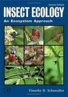 new book, title: Insect ecology : an ecosystem approach / Timothy D. Schowalter.