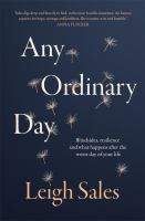 new book, title: Any ordinary day / Leigh Sales.