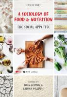new book, title: A sociology of food and nutrition : the social appetite / edited by John Germov, Lauren Williams.