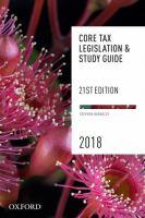 new book, title: Core tax legislation & study guide / Stephen Barkoczy.
