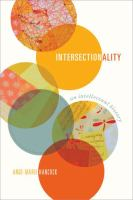 new book, title: Intersectionality [electronic resource] : an intellectual history / Ange-Marie Hancock.