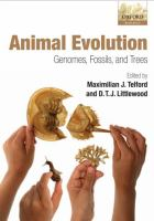 new book, title: Animal evolution : genomes, fossils, and trees / edited by Maximilian J. Telford and D.T.J. Littlewood.