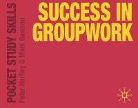 new book, title: Success in groupwork / by Peter Hartley & Mark Dawson.