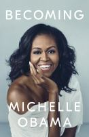 new book, title: Becoming / Michelle Obama.
