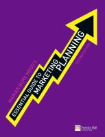 new book, title: Essential guide to marketing planning / Marian Burk Wood.