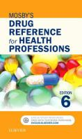 new book, title: Mosby's drug reference for health professions [electronic resource] / Shelly Rainforth Collins.