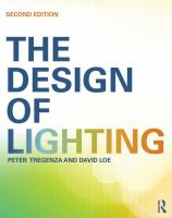 new book, title: The design of lighting / Peter Tregenza and David Loe.