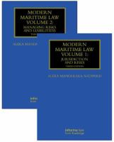 new book, title: Modern maritime law [electronic resource] / Aleka Mandaraka-Sheppard, Alan van Pragg contributor to Rule B attachment under US Law.