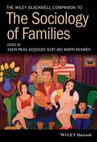 new book, title: The Wiley Blackwell companion to the sociology of families / edited by Judith Treas, Jacqueline Scott, and Martin Richards.