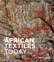 new book, title: African textiles today / Chris Spring.