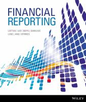 new book, title: Financial Reporting 1E [electronic resource] / Loftus, Janice.