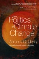 new book, title: The Politics of Climate Change [electronic resource]
