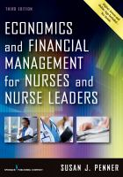 new book, title: Economics and financial management for nurses and nurse leaders [electronic resource] / Susan J. Penner.