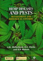 new book, title: Hemp Diseases and Pests [electronic resource]: Management and Biological Control: an Advanced Treatise