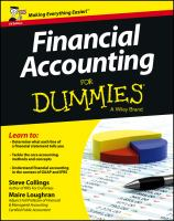 new book, title: Financial Accounting for Dummies [electronic resource]