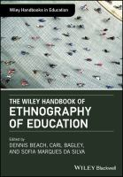 new book, title: The Wiley handbook of ethnography of education [electronic resource] / edited by Dennis Beach, Carl Bagley, and Sofia Marques da Silva.