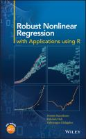 new book, title: Robust nonlinear regression [electronic resource] : with application using R / Hossein Riazoshams, Habshah Midi, Gebrenegus Ghilagaber.
