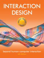 new book, title: Interaction design : beyond human-computer interaction / Preece, Rogers, Sharp.