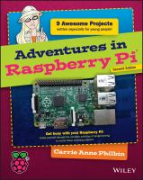 new book, title: Adventures in Raspberry Pi [electronic resource]