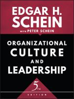 new book, title: Organizational culture and leadership [electronic resource] / Edgar H. Schein.