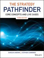 new book, title: The strategy pathfinder [electronic resource] : core concepts and live cases / by Duncan Angwin, Stephen Cummings.