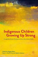 new book, title: Indigenous children growing up strong [electronic resource] : a longitudinal study of Aboriginal and Torres Strait Islander families / Maggie Walter, Karen L. Martin, Gawaian Bodkin-Andrews, editors.