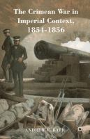 new book, title: The Crimean War in imperial context, 1854-1856 / Andrew C. Rath.