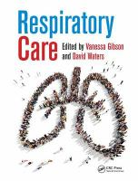 new book, title: Respiratory Care [electronic resource]