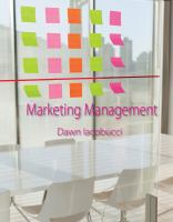 new book, title: Marketing management / Dawn Iacobucci.