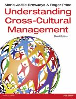 new book, title: Understanding cross-cultural management / Marie-Joelle Browaeys and Roger Price.