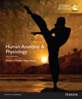 new book, title: Human Anatomy and Physiology, Global Edition [electronic resource]