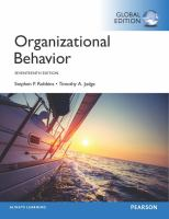 new book, title: Organizational Behavior, Global Edition [electronic resource]