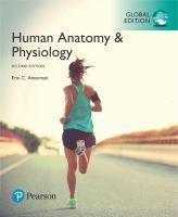 new book, title: Human anatomy & physiology / Erin C. Amerman.