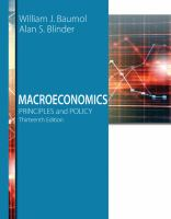 new book, title: Macroeconomics : principles and policy / William J. Baumol, New York University and Princeton University, Alan S. Blinder, Princeton University.