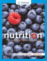 new book, title: Nutrition : concepts & controversies / Frances Sienkiewicz Sizer, Ellie Whitney.