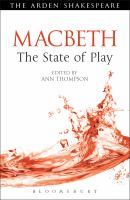 new book, title: Macbeth [electronic resource] : the state of play / edited by Ann Thompson.