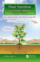 new book, title: Plant nutrition and soil fertility manual [electronic resource] / J. Benton Jones, Jr.