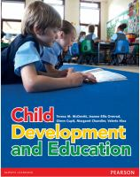 new book, title: Child development and education / Teresa M. McDevitt [and four others].