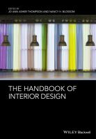new book, title: The handbook of interior design [electronic resource] / edited by Jo Ann Asher Thompson and Nancy H. Blossom.
