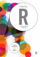 new book, title: An introduction to R for spatial analysis & mapping / Chris Brunsdon and Lex Comber.